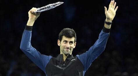 Tennis, Djokovic chiude primo. Fognini 13°