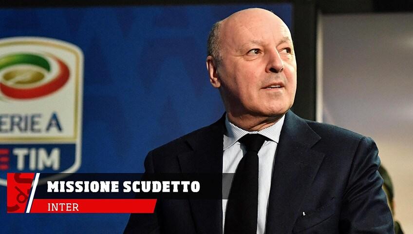 Inter, con Marotta missione scudetto