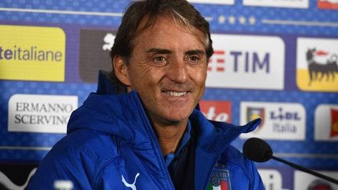 Mancini: «Voglio un'Italia che giochi sempre»