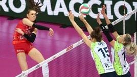 Volley: A1 Femminile, Busto doma Firenze solo al tie break
