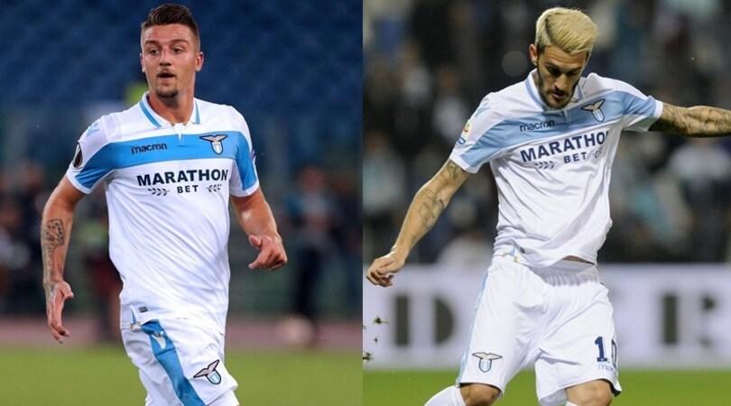 Lazio, Milinkovic e Luis Alberto sotto pressione