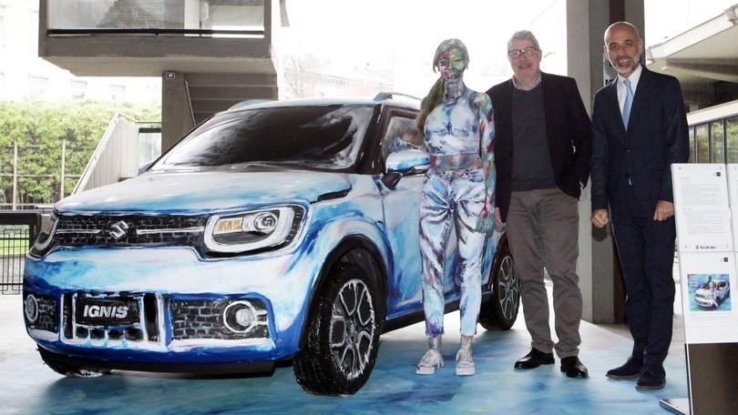 Suzuki Hybrid Art, l'asta è un trionfo