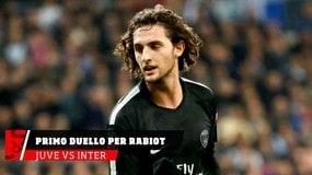Juventus-Inter, il primo duello è per Rabiot