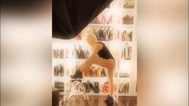 Wanda Nara, il video