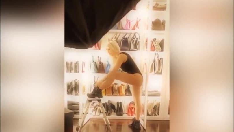 """Wanda Nara, il video """"infiamma"""" i followers"""