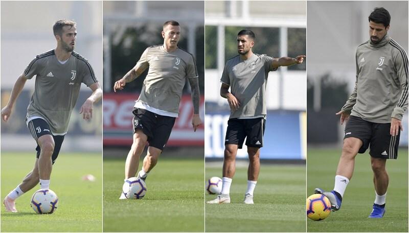 Juventus, Allegri recupera i pezzi: ci sono Can, Khedira, Pjanic e Berna
