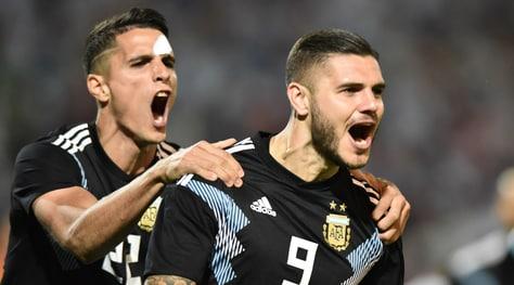 L'Argentina batte il Messico: a segno Dybala e Icardi