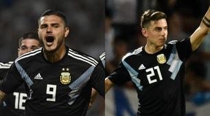 Icardi e Dybala, show con l'Argentina!