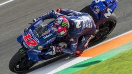 MotoGp Yamaha, Vinales: «Mi serve una moto più compatta»