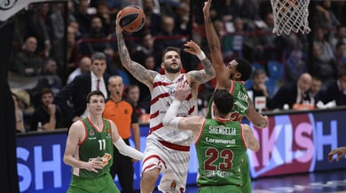 Eurolega, l'Olimpia Milano batte 93-90 il Baskonia