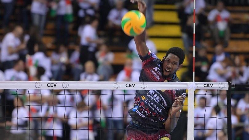 Volley: Champions League, partenza ok per Perugia, 3-0 alla Dinamo