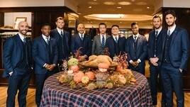 Thanksgiving, l'Inter festeggia con Brooks Brothers
