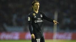 «Modric non rinnova con il Real: l'Inter ci prova»