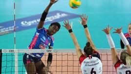 Volley: Champions Femminile, Novara in scioltezza con il Budowlani