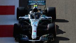 F1 Abu Dhabi, Bottas vola nelle seconde libere