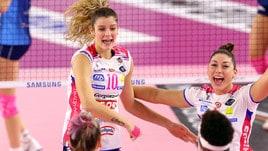 Volley: A1 Femminile, Firenze-Novara apre la 7a giornata