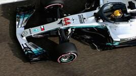 F1, Abu Dhabi: Hamilton davanti, poi Raikkonen e Vettel