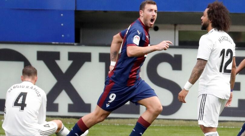 Allarme Real Madrid! 3-0 ad Eibar a tre giorni dalla Roma