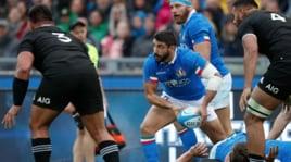 Italia-All Blacks: segui la diretta