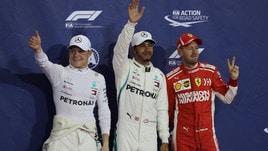 F1, Abu Dhabi: super Hamilton, vittoria a 1,70