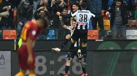 La Roma cade a Udine: esordio ok per Nicola