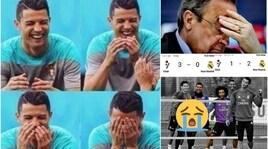 Real Madrid deriso sui social. E aumentano i nostalgici di CR7