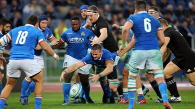 Italia travolta dagli All Blacks: 66-3
