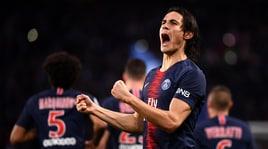 Ligue 1, al Psg basta Cavani
