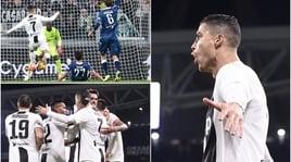 Serie A, Juventus-Spal 2-0: in gol Ronaldo e Mandzukic