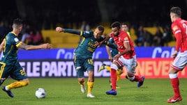Serie B, Benevento-Perugia 2-1: Bandinelli gela gli umbri