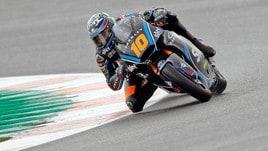 Moto2: vento e freddo frenano i test a Jerez