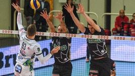 Volley: Superlega, Trento espugna la Kioene Arena