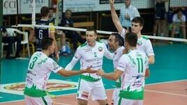 Volley: A2 Maschile, Girone Bianco, Macerata vince l'anticipo con Lamezia