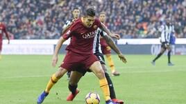 Udinese-Roma, l'intervento su Pellegrini in area