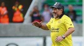 Maradona va in finale playoff con i Dorados e attacca Macrì: «Il Superclasico? Colpa del governo»