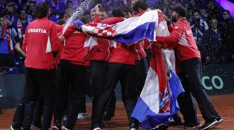 Coppa Davis alla Croazia: 3-1 alla Francia