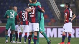 Bologna-Fiorentina, tanta pioggia ma zero gol