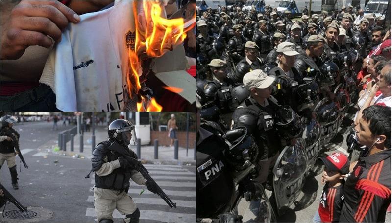 Coppa Libertadores, River-Boca rinviata. Buenos Aires in assetto di guerra