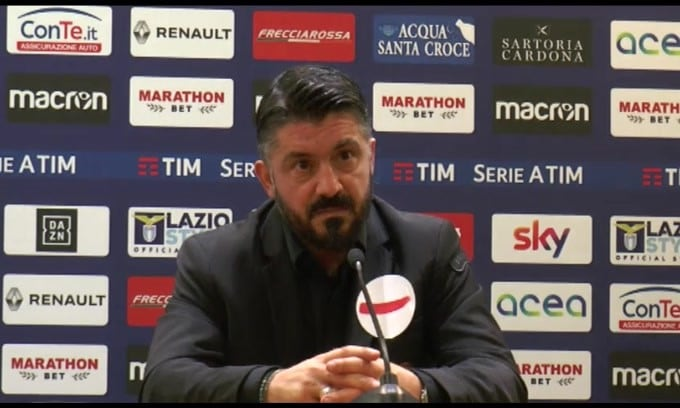 "Gattuso: ""Salvini pensi al paese"""