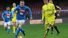 Serie A, scudetto: il Napoli frena anche in quota