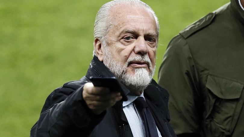 "De Laurentiis: ""Napoli, ho bisogno di vincere"""