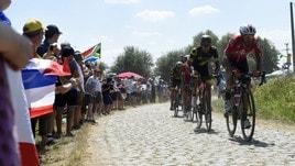 """Ciclismo, in quota la """"follia"""" di Tafi: la vittoria a Roubaix è a 350"""