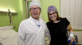 Elena Fanchini in ospedale a Brescia