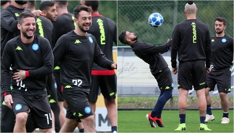Champions, il Napoli tra fantasia e risate: il Chievo è alle spalle