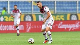 Serie A Bologna, contusione al ginocchio per Dzemaili