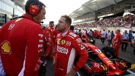 F1 Ferrari, Vettel: «Nuovi pneumatici funzionano bene»