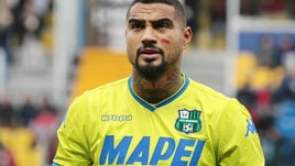 Serie A Sassuolo, lesione muscolare per Boateng