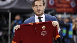 Totti nella Hall of Fame: festa all'Olimpico