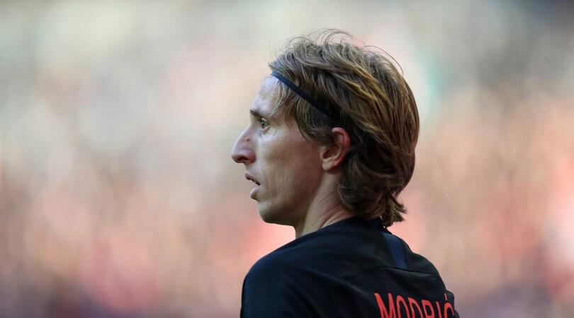 «Pallone d'oro, Modric vince davanti a Ronaldo»