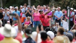 Anche Tiger Woods su GOLFTV